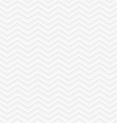 White geometric seamless zigzag background vector
