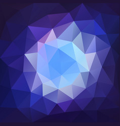 abstract background with triangular mosaic vector image