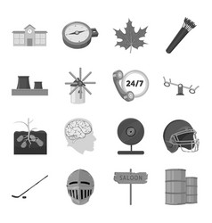 Architecture logistics sport and other web icon vector