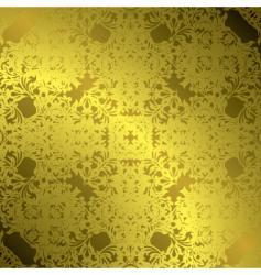gold leaf vector image