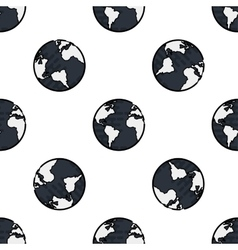Science flat pattern vector image vector image