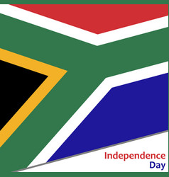 South africa independence day vector