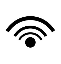wifi internet connection communication image vector image