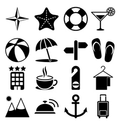 Travel icons vol2 vector