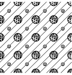 Seamless pattern abstract texture repeating vector
