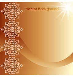Decorative cover template nine vector