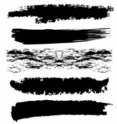 Brushes vector