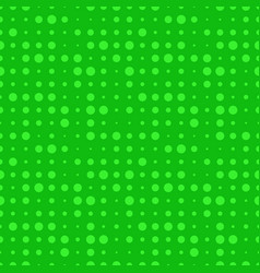 Green dot seamless pattern vector