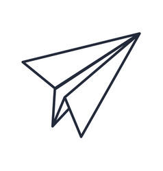 Paper airplane creativity imagination free vector