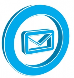 Icon email vector