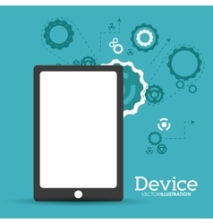Device icon design vector