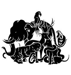 Multi animals vector