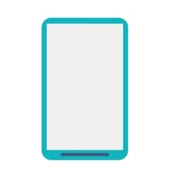 Smartphone phone mobile flat icon vector
