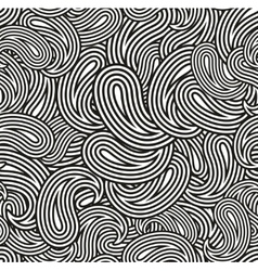 Black and white seamless pattern for coloring vector image vector image