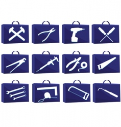 set icon for web vector image vector image