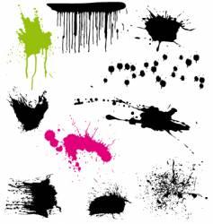 Splatters vector