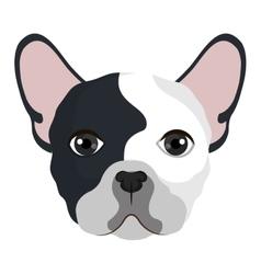 Dog cartoon face vector