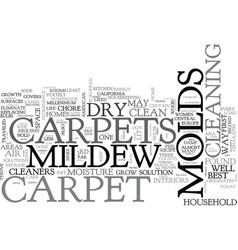Best carpet cleaners advice keep dry bid molds vector