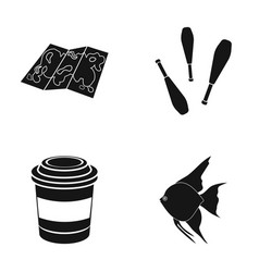 Fishing meat recreation and other web icon in vector