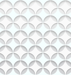 Paper hole seamless pattern abstract background vector