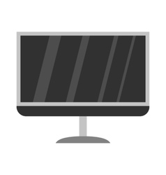 Tv icon flat style vector