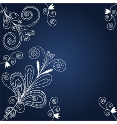 Blue and white background vector