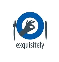 Logo hand vector