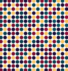 Bright Colorful Dots Pattern Background vector image