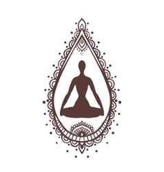 Yoga-2 vector image