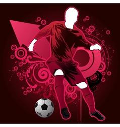 sports man vector image