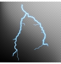 Lightning isolated eps 10 vector