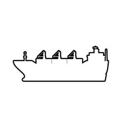 Ship icon transportation design graphic vector