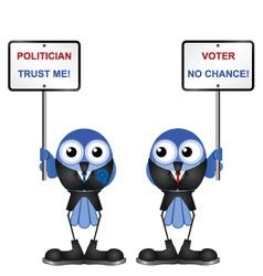 Bird politician vector