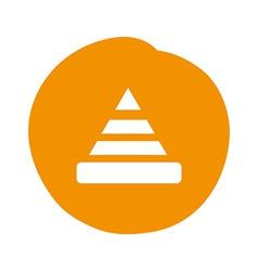 Cone design vector