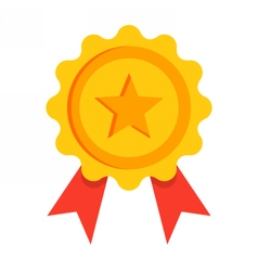 Gold Award Icon vector image