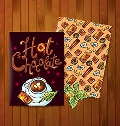 Hot cokolate vector