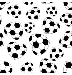 Seamless soccer ball vector