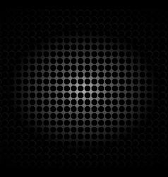 metal texture polygon black background vector image