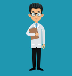 Doctor professional healthcare design vector