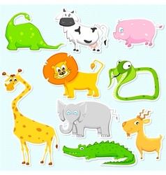 Animal Sticker vector image