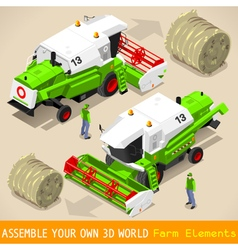 Thresher 03 vehicle isometric vector