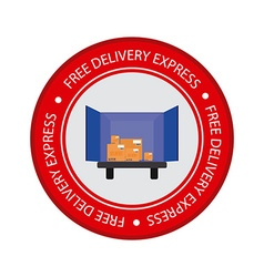 Delivery object label vector