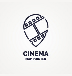 Ticket pointer icon on background vector