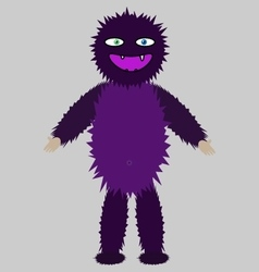 Spooky monster image vector