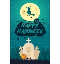 Happy Halloween Holiday vector image