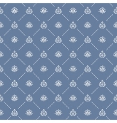 Ornamental royal wedding seamless background vector