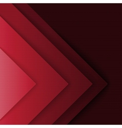 Abstract red and black triangle shapes background vector