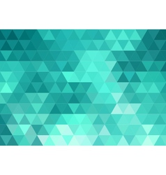 abstract teal geometric background vector image vector image