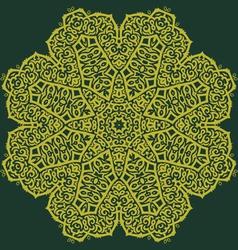Aztec flower vector
