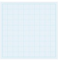 Blue graph paper vector image